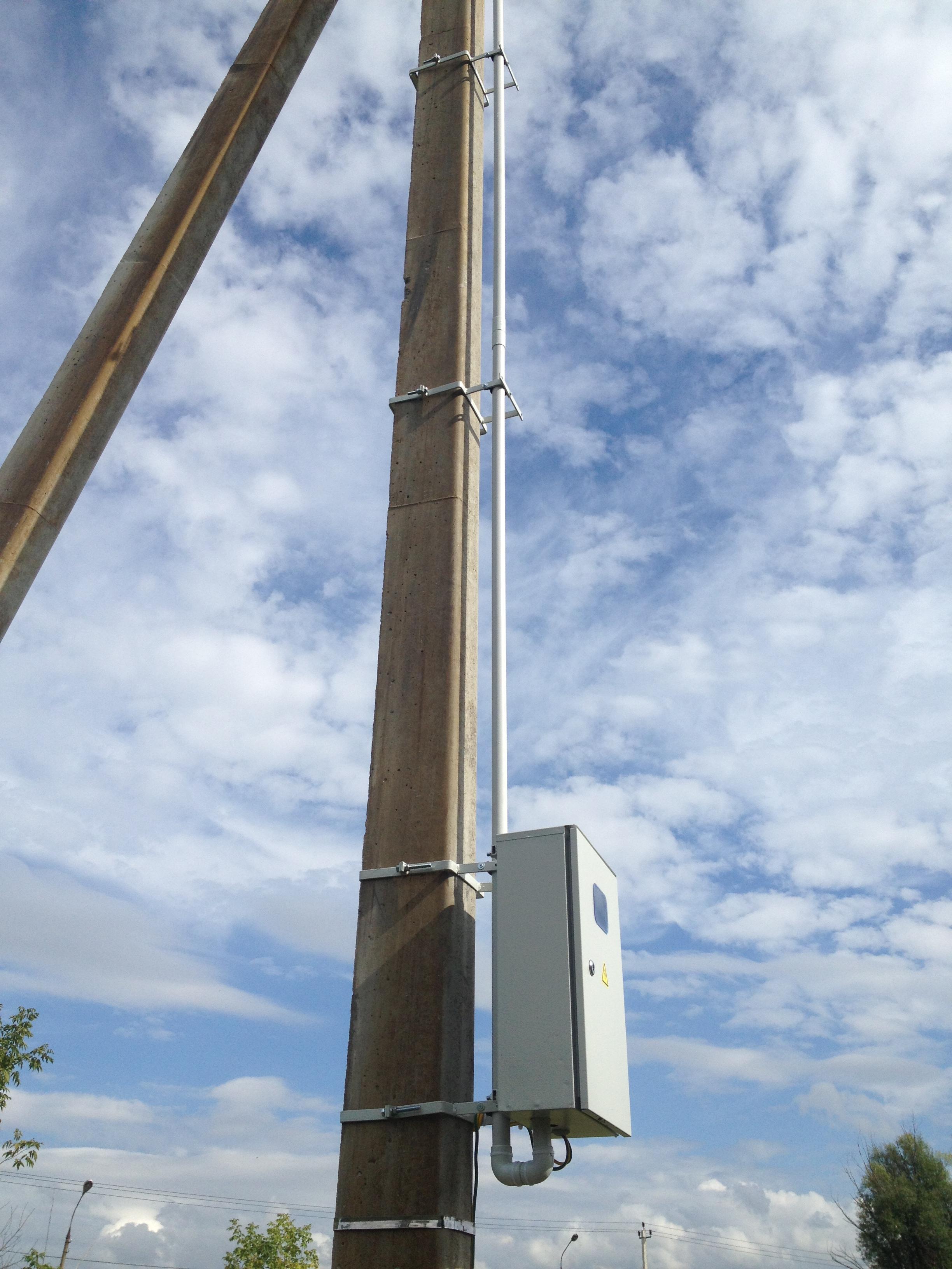 Деревянный столб под электричество своими руками