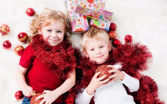 Интересный новый год для ребенка