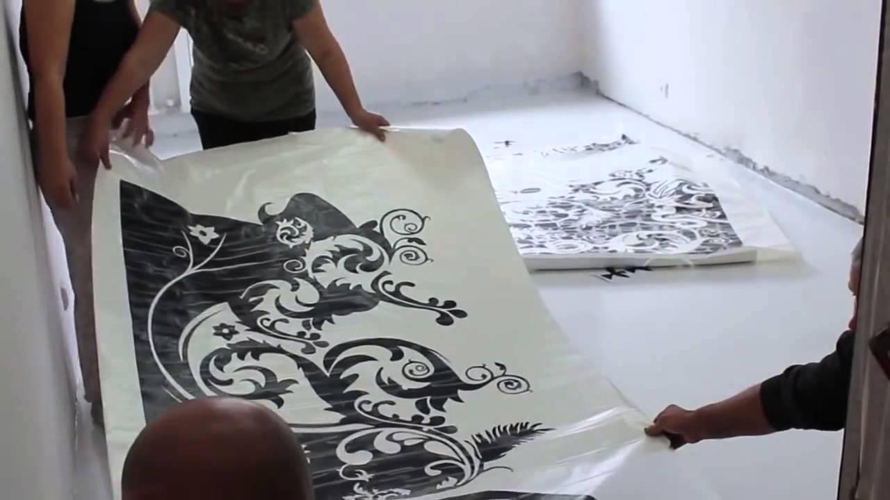 Наливной пол как сделать рисунок
