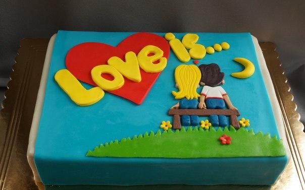 Торт из мастики из фотографий