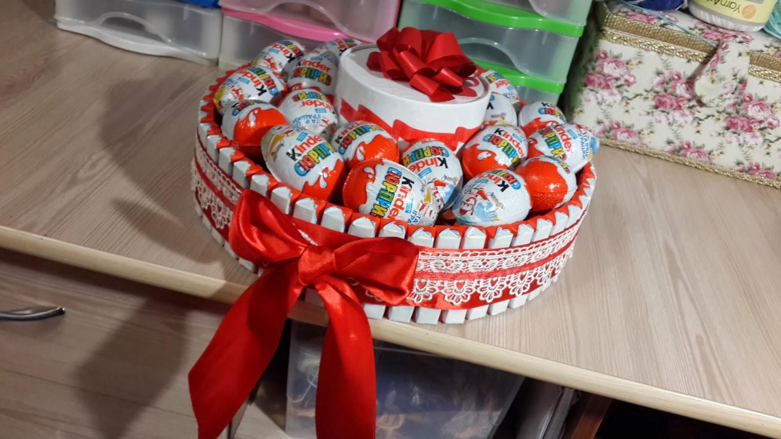 Подарки на день рождения фото для девочек своими руками