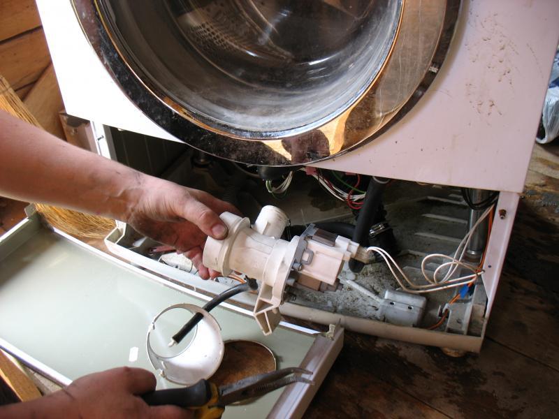 Ремонт помпы стиральной машины