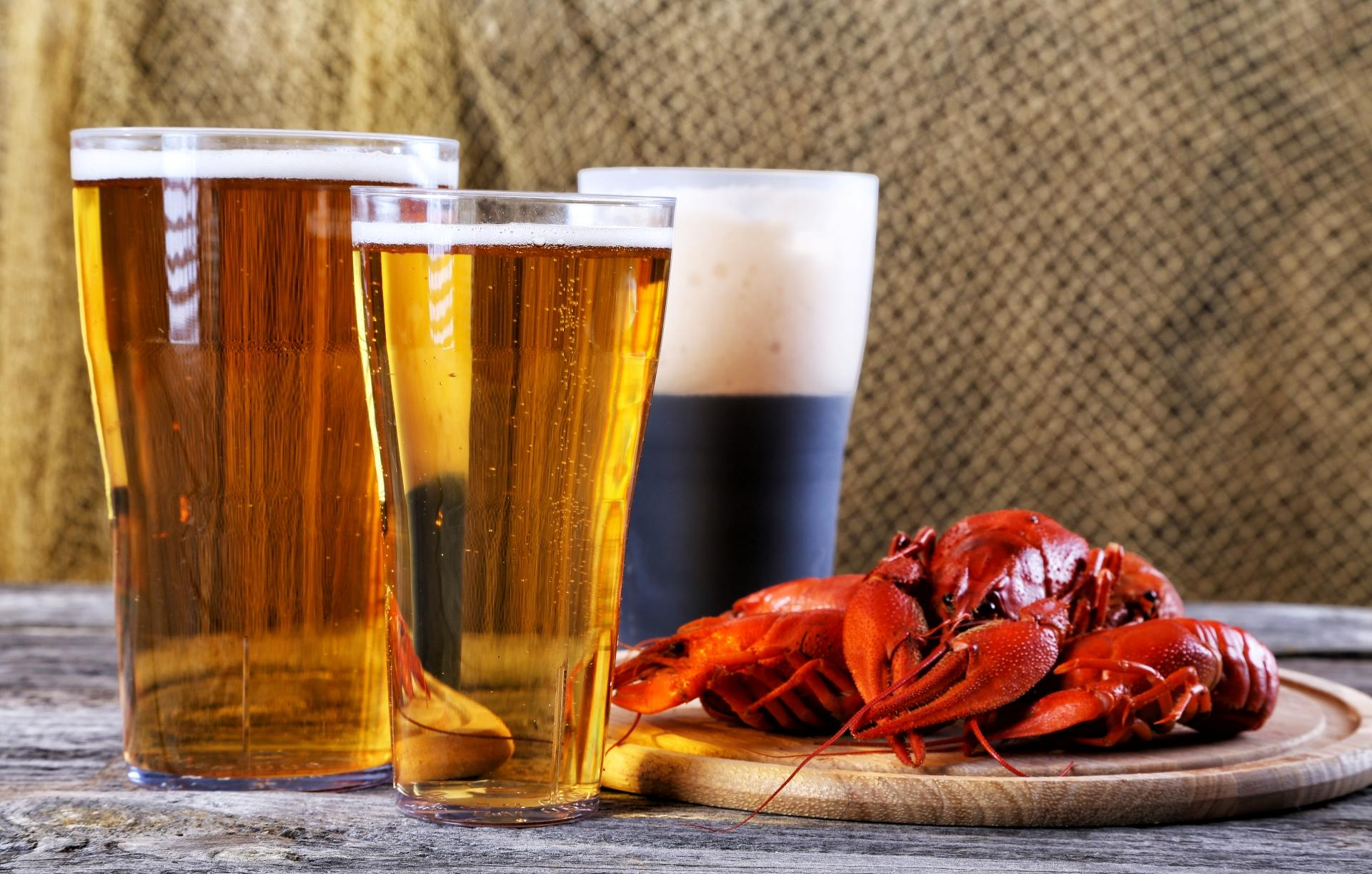 холодное пиво с раками  № 449443 без смс