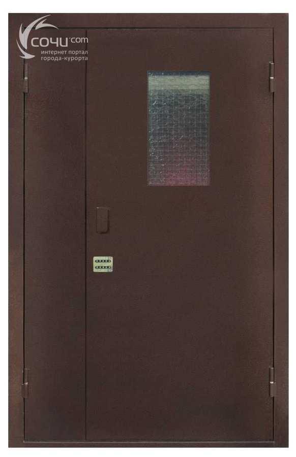 подъездные и тамбурные двери металлические цена