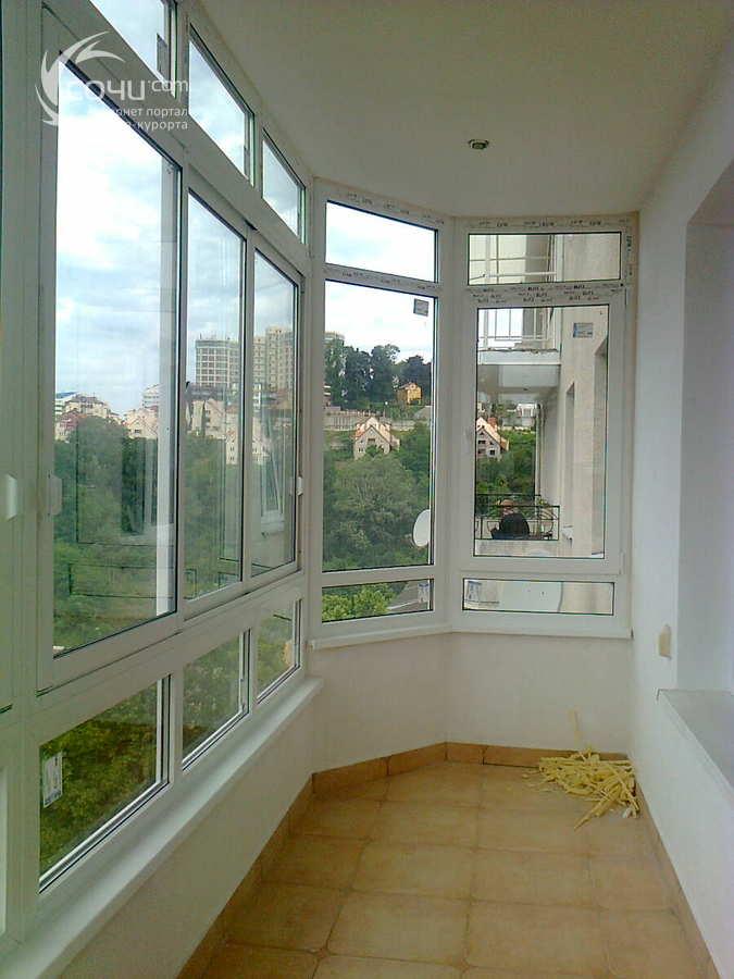 Остекление балконов, перегородки - sochi.com - объявления.